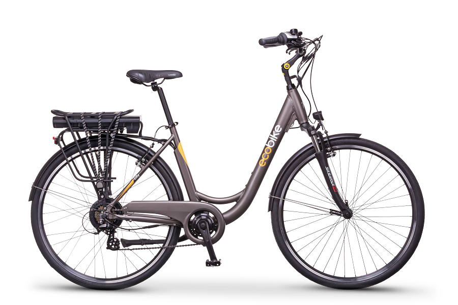 ECO BIKE CITY L GREY PRO 28 2019 + BATERIA 36V13 Ah LG