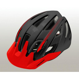 KASK MERIDA YOUNG BLACK-RED S