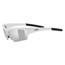 OKULARY UVEX SUNSATION WHITE BLACK-uniwersalny