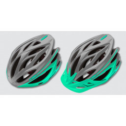 KASK MERIDA COSMO GREY-LIGHT GREEN M
